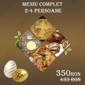 Meniu Complet paste 2-4 Persoane Omega